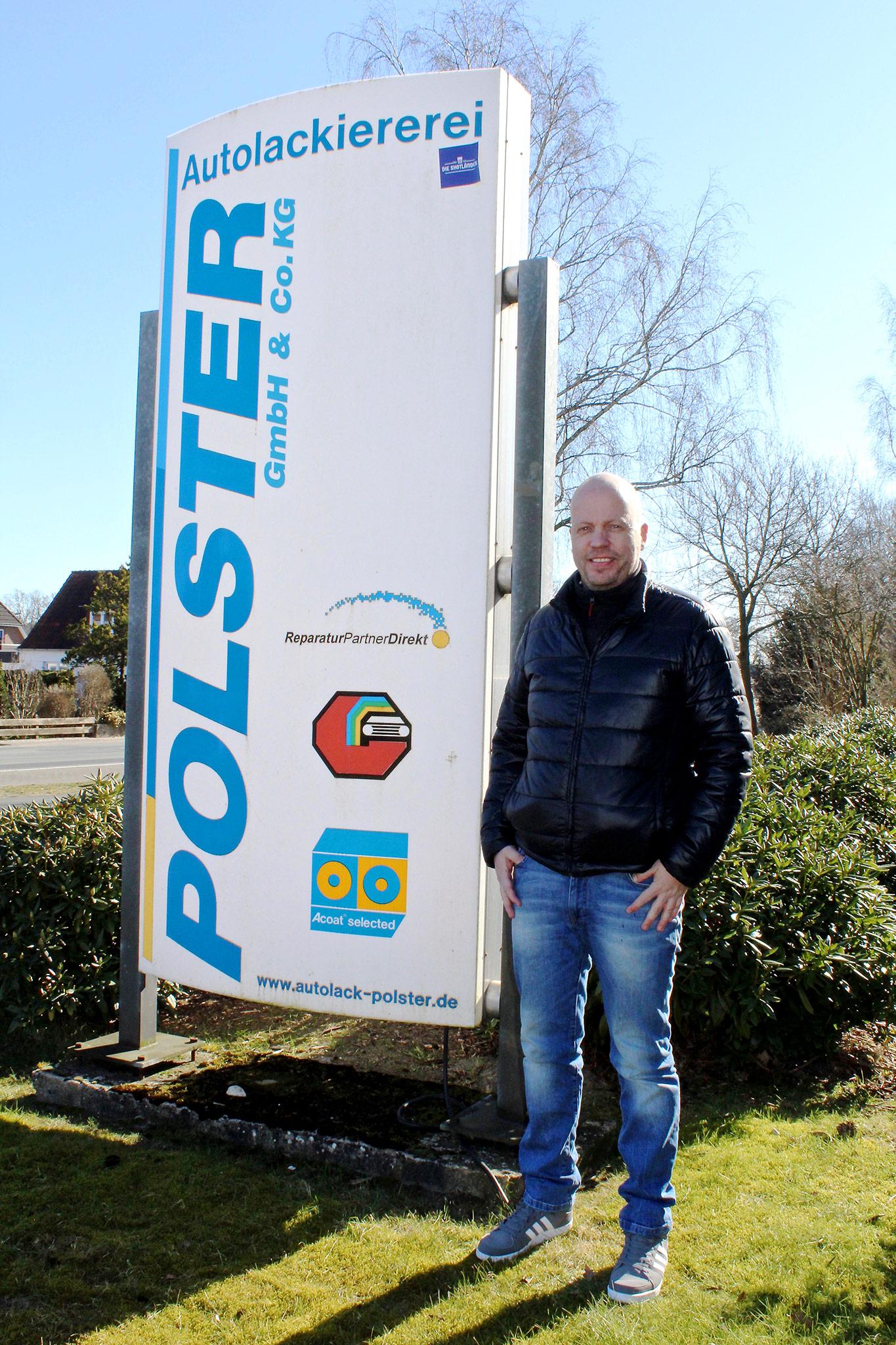 Ulf Niemeyer Geschäftsführer Autolack Polster in Ganderkesee